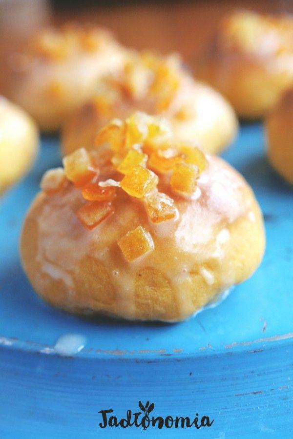 pączki pieczone z batatami