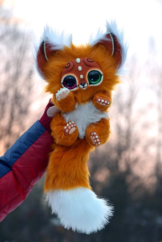 Ginger kitten от GakmanCreatures на Etsy