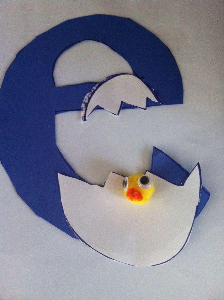 E Is For Egg Alphabet Art For Kids Pinterest Egg