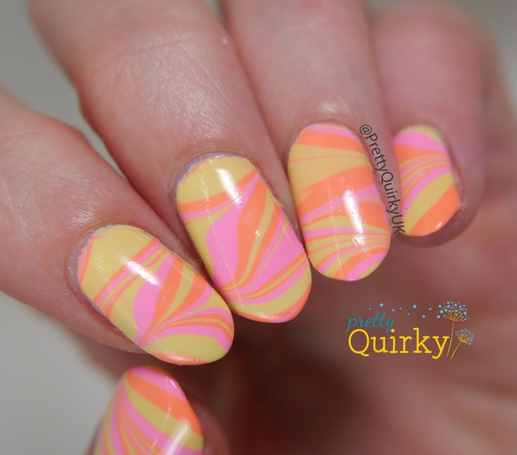 647 best nail art water marble images on pinterest marbles water marble nail art 4 prinsesfo Choice Image