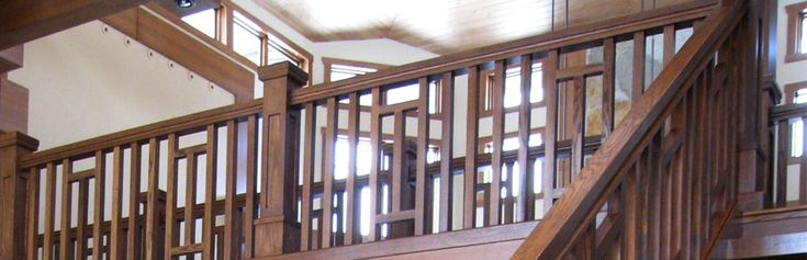 Best Craftsman Arts And Crafts Balcony With Newel Posts On Top 400 x 300