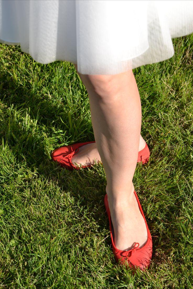 Photo creuseusedetresors Repetto ballerine... rouge