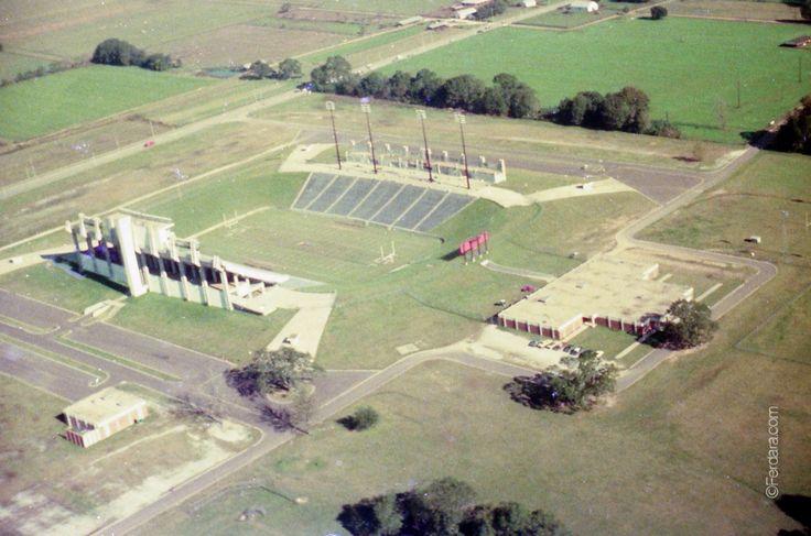 USL/ULL Ragin Cajun Football Stadium Mid 1970's Lafayette Louisiana