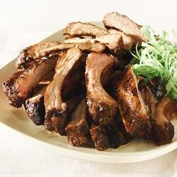 Pork Back Ribs With Spicy Dipping Sauce