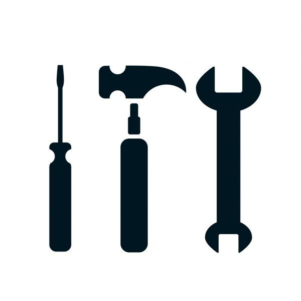 Screwdriver Wrench And Hammer Icon Stock Vector Ad Hammer Wrench Screwdriver Vector Ad Icon Hammer Instagram Icons