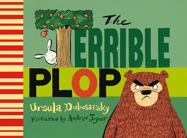 The Terrible Plop by Ursula Dobosarsky pictures by Andrew Joyner Six rabbits are picnicing by the lake, when they hear a terrible PLOP. The rabbits run away in fear, gathering other animals as they go. Only the big brown bear is unafraid, although in the end it is the brave little rabbit who is wisest. Shortlisted for the Children's Book Council award, this modern take on Chicken Licken is humorous and written with a charming rhythm. And the PLOP sound is a winner #reading #childrensbooks