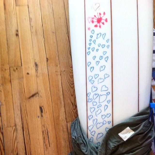 Daughter art ✏️#cetusbiarritz #surf #biarritz
