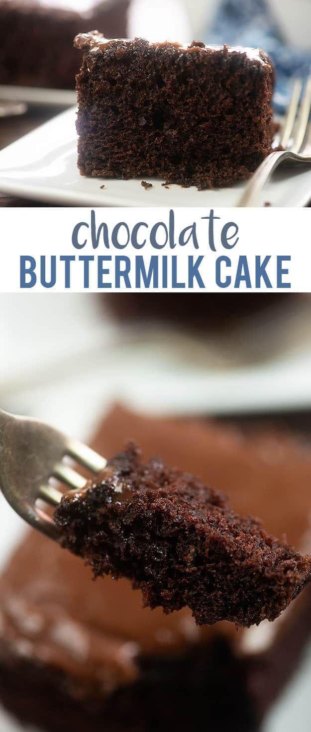 Buttermilk Chocolate Cake Recipe Buttermilk Chocolate Cake Savoury Cake Cake Recipes