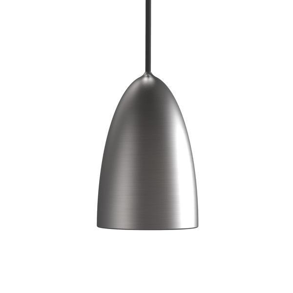 Nexus 10 Ceiling Pendant Light - Brushed Steel