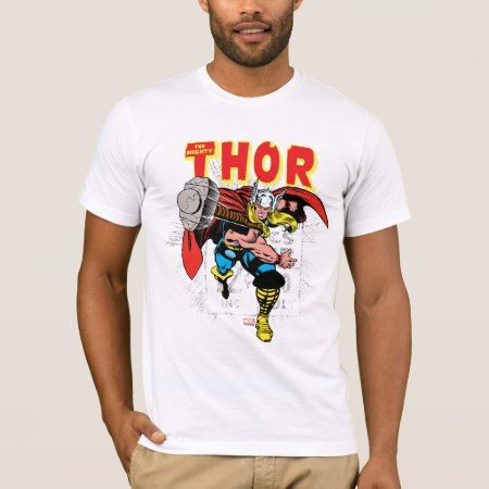 Thor Retro Comic Price Graphic T-Shirt - click/tap to personalize and buy #thor #marvel