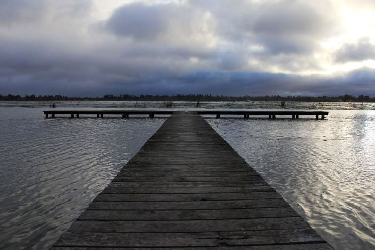 And this is an up for Lake Wendouree