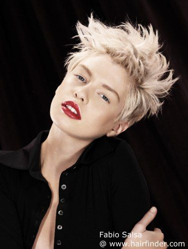 Platinum pixie, wish I could still rock this.
