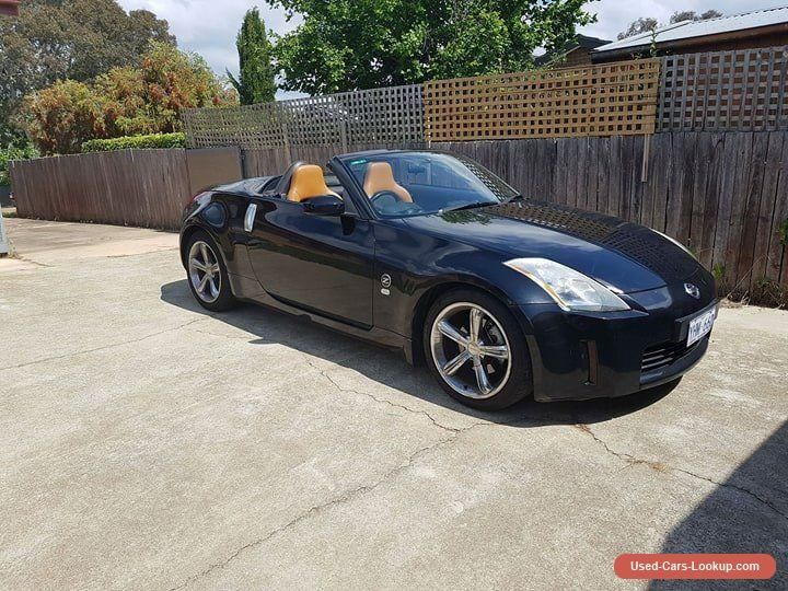 NISSAN 350Z convertable 6 speed manual 145kms z33 roadster  #nissan #350z #forsale #australia