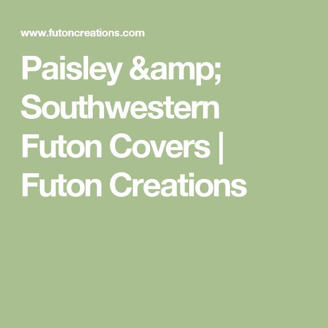 Paisley & Southwestern Futon Covers | Futon Creations