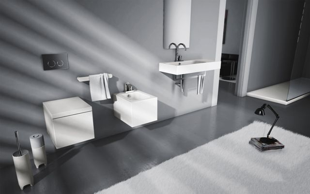 Block, design Meneghello Paolelli Associati. #sanitari #sanitaries #washbasin #lavabi #design #bathroom #ArtCeram