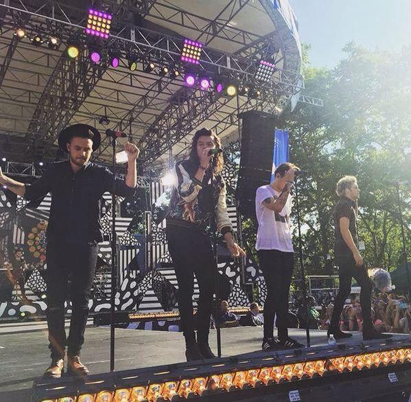 The boys on GMA! // New York • 8.4.15 - @Tati1D5