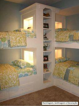 Kids bunk beds Huge space saver!