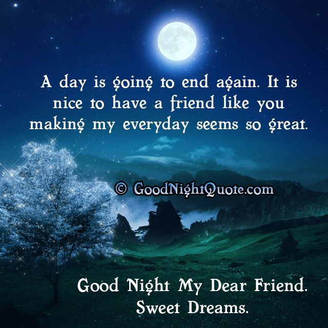 Whatsapp Good Night Status With Friendship Quote Good Night Quotes