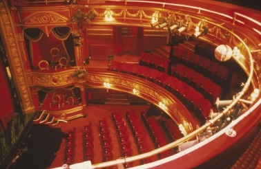 "Theatre Royal Stratford East - used to go to panto here - real east end ribaldry - ""Oh I miss my Dick!"""