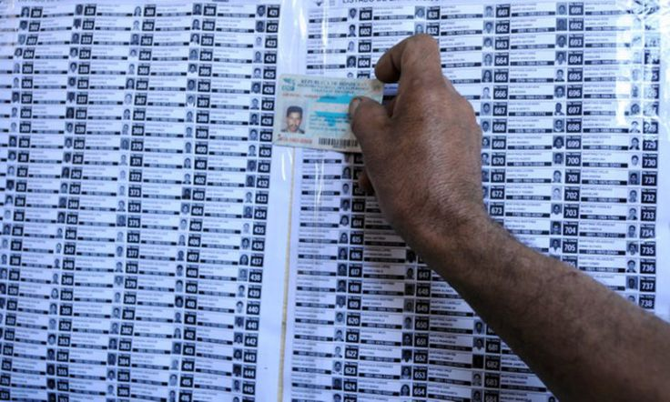 Cuestionan confiabilidad del censo electoral hondureño