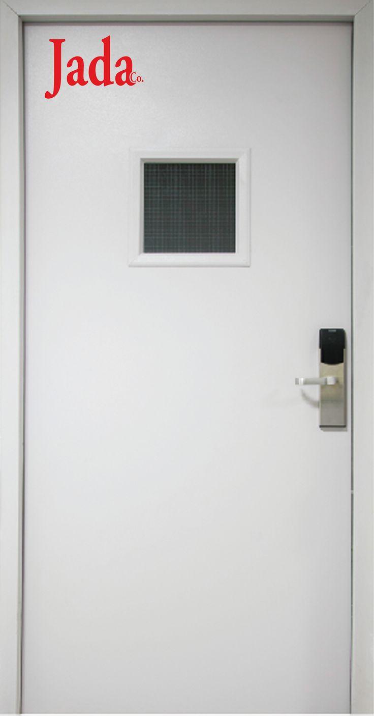 flush security exterior double opening hollow national pull doors door metal