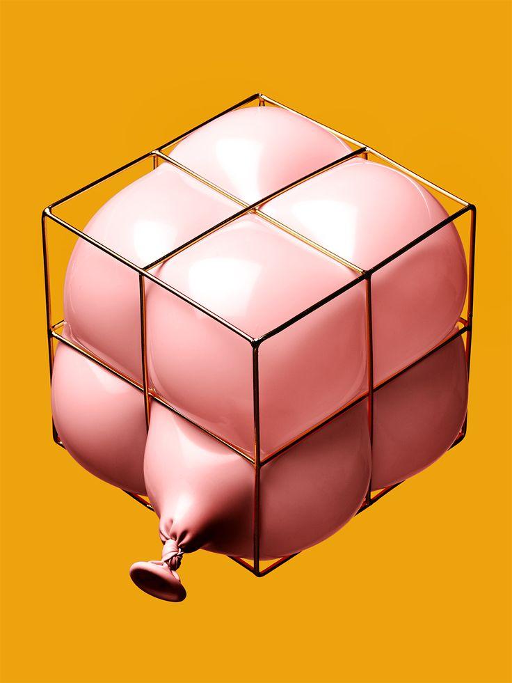 MVAT, contemporary object, pink balloon