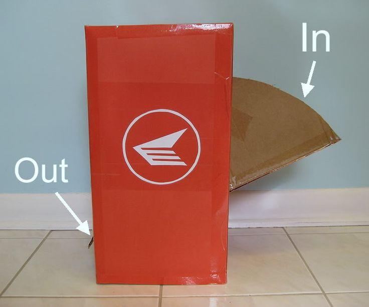 My Handmade Home: Day 2 of Cardboard: Canada Post Play Mailbox