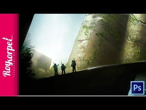 Temple Ruins - Photoshop time-laps by Roy Korpel