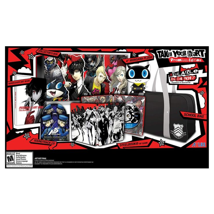 "Persona 5 ""Take Your Heart"" Premium Edition (PlayStation 4)"