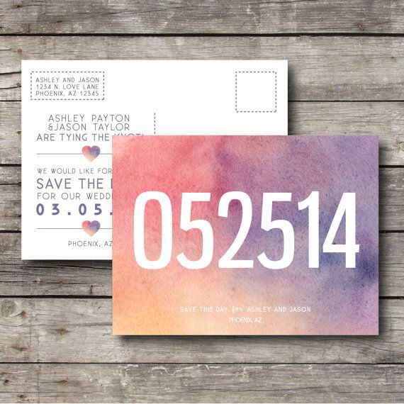 DIY PRINTABLE INVITATION SET  ----------------------------------------------  (1) 5.5 x 4.125 which will