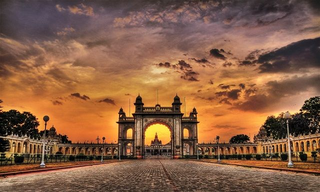 Mysore - Places to Visit in India in November The city flaunts its old world charm with structures like the Mysore Palace and Amba Vilas Palace.