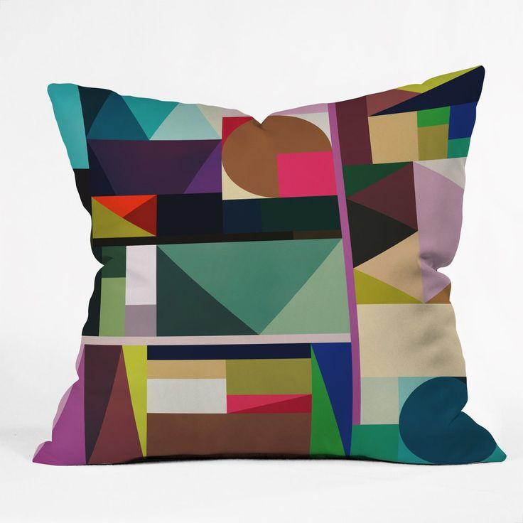 Fimbis Kaku Outdoor Throw Pillow | DENY Designs Home Accessories