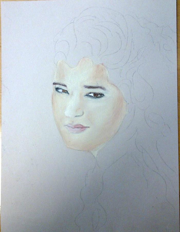 Pastel Portrait Activity Log | nhafez13