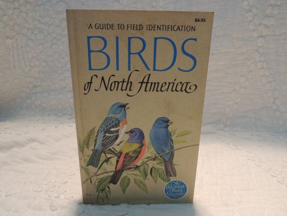 Bird Identification Book A Guide to Field by PurveyorsOfFineJunk