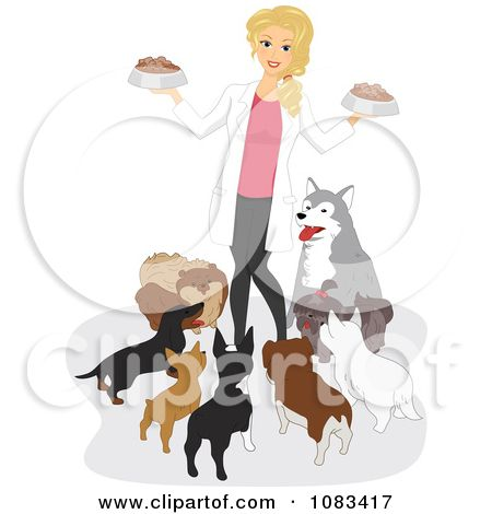 104 best dog grooming setup images on pinterest dog accessories dog grooming cartoon clipart female vet feeding dogs royalty free vector illustration by solutioingenieria Images