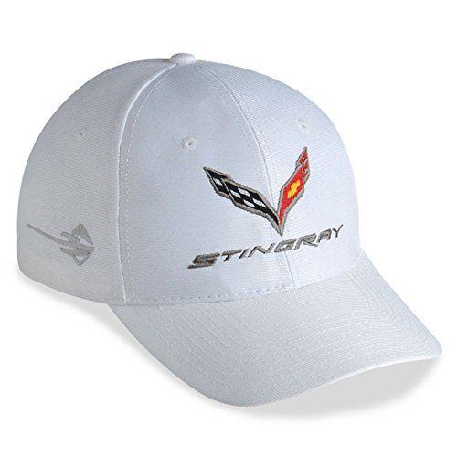 2014 Chevrolet Corvette C7 Stingray Hat White - http://www.caraccessoriesonlinemarket.com/2014-chevrolet-corvette-c7-stingray-hat-white/  #2014, #CHEVROLET, #Corvette, #Stingray, #White #Corvette, #Enthusiast-Merchandise