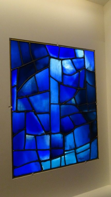 """Exposition: """"Chagall, Soulages, Benzaken... : le vitrail contemporain"""" à la Cité de l'architecture et du patrimoine (18 mai - 21 septembre 2015)                                                                                                                                                                                 Plus"""