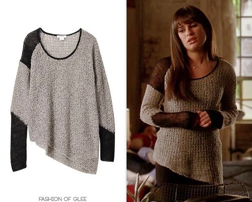 Helmut Lang Flecked Boucle Sweater - $310.00  Worn with: Dana Rebecca Designs earrings, Barneys New York Co-Op boots