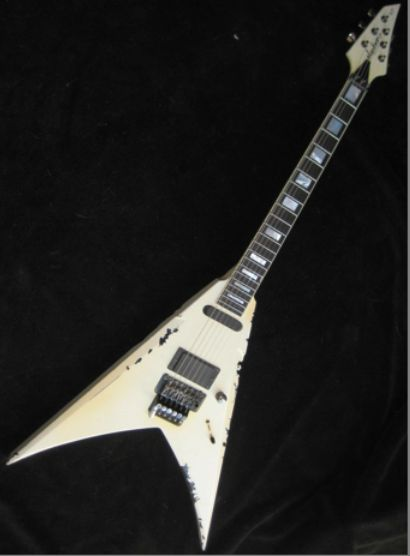 Wolf Hoffmann (Accept) custom Jackson Flying V #guitars #jackson