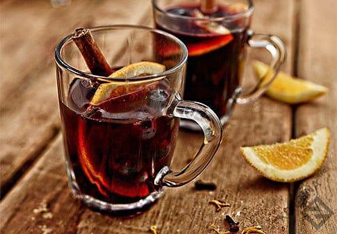 Рецепт Безалкогольный глинтвейн 2 ингредиента по акции