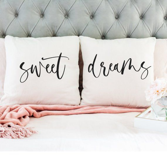 sweet dreams pillow set shop our etsy