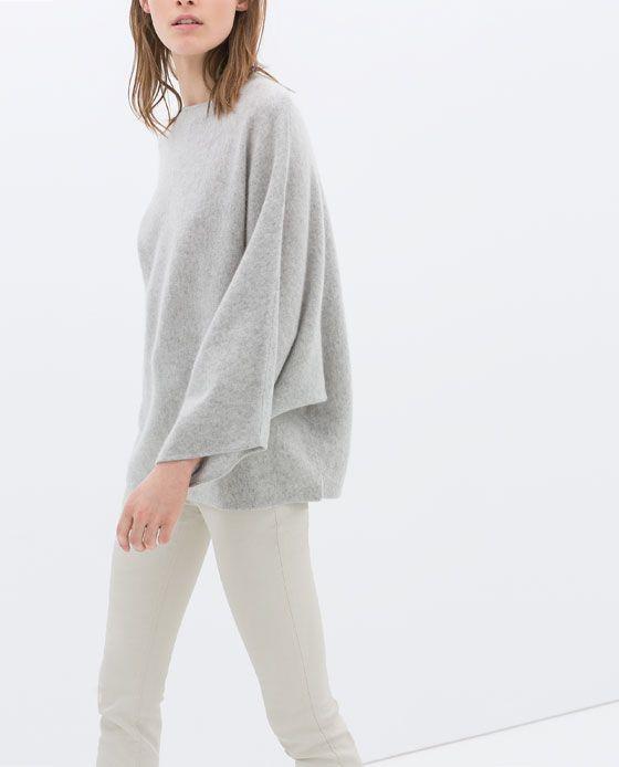 erstaunlicher Preis Modern und elegant in der Mode echte Qualität ZARA - NUEVA COLECCIÓN - PONCHO CASHMERE | Things to Wear ...