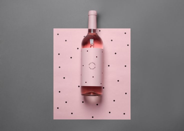 Dúzsi Tamás Merlot Rosé on Packaging of the World - Creative Package Design Gallery