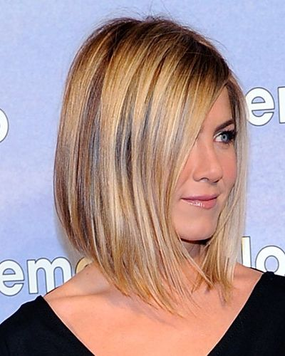 Jennifer Aniston hair cut and color