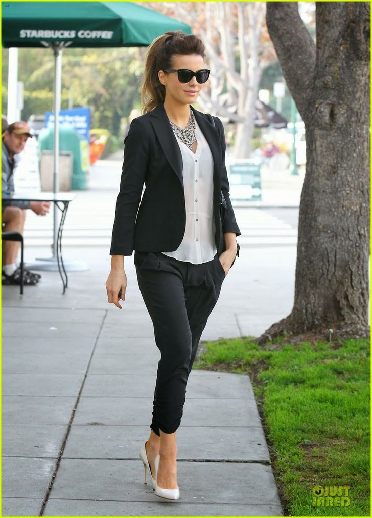 Kate Beckinsale and husband Len Wiseman doing some shopping at Fred Segal in Santa Monica