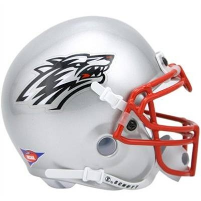 University of New Mexico Lobos football game helmet