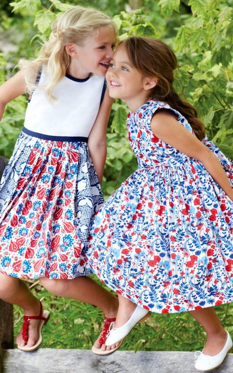 Oscar de la Renta Childrenswear Spring/Summer 2014 Trunkshow Look 7 on Moda Operandi