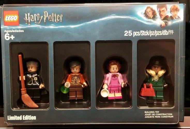 Harry Potter w// invisibility cloak-Harry Potter-Minifigure-US SELLER
