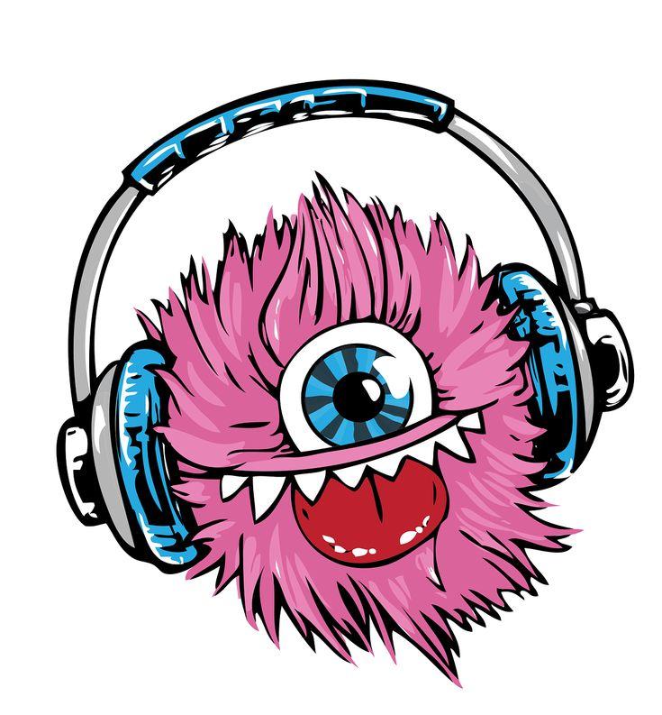 Monster Headphones Headset transparent image