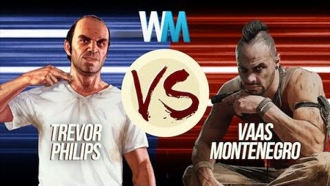 Trevor Philips Vs Vaas Montenegro best gaming fight ever
